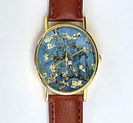 Van Gogh Uhr, Mandelblüten, unisex, floral Uhr, Damenuhr, Herrenuhr, analog, impressionist, Geschenkidee
