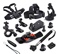 Gopro Accessories Protective Case / Monopod / Tripod / Screw / Buoy / Suction Cup / Straps / Accessory Kit / Mount/HolderAll in One /