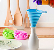 Silicone Liquid Dispensing Funnel Random Color