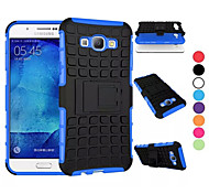 For Samsung Galaxy Case Shockproof / with Stand Case Full Body Case Armor PC Samsung A8 / A7 / A5 / A3