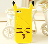 animal cartoon figura de silicone tampa traseira macia para iphone 6s 6 mais