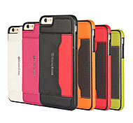Multicolor Embossed Leather Phone Shell Paste For  iPhone 6 Plus / 6S Plus (Assorted color)