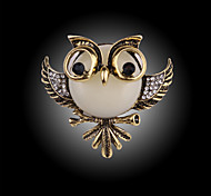 mode vintage hibou Broche