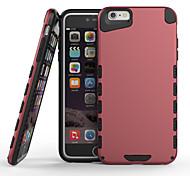 2 en 1 diseño de la PC y de TPU nuevo caso para el iphone 6 / 6s (colores surtidos)