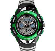 SKM 0998 Children Sport Watch Dual Display Waterproof Watch