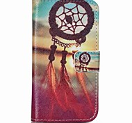 Red Dreamcatcher Painted PU Phone Case for Galaxy J1 Ace/J2/J1
