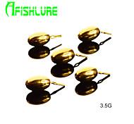 Acessórios de pesca Pesca Tigre Dourado Metal - AfishlurePesca de Mar / Pesca Voadora / Isco de Arremesso / Pesca no Gelo / Rotação /