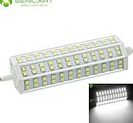 R7S 189mm 72 x 5060SMD 20W Warm White / Cool White 1800LM 220°Beam Horizontal Plug Lights Dimmable Flood Light AC85-265V