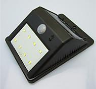 solaire de haute qualité 8 a mené la lampe de lumière de la cour humaine lampe à induction du corps / lampe de mur / jardin imperméable à