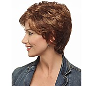 Real High Quality Blend Color Short Synthetic Hair Wave Wigs