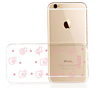 Brand LOLI Transparent TPU Material Case For IPhone6/6s