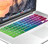 испанский европейская кожа кавер-версия яркий силиконовая клавиатура для MacBook Air 13.3, MacBook Pro с сетчатки 13 15 17