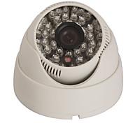 cctv 1200tvl HD CMOS de Sony gran angular cámara de vigilancia de cámaras de seguridad interior de la bóveda 48LED 3.6mm de corte IR