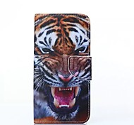 Tiger Pattern Cell Phone Leather For Samsung Galaxy S6edge Plus/S6edge/S6