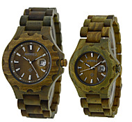 Vintage Wood Watch, Mens Watch, Womens Wood Watches, Wooden Quartz Watches,Solar Watch,Gift Idea-Green Wrist Watch Cool Watch Unique Watch