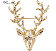 D Exceed Newest Arrival Cute Lovely Beer/Christmas Reindeer Brooch Fashion Personality Accessory Jewelry Brooches