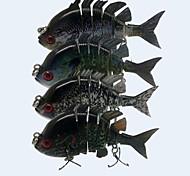 """Harte Fischköder 14 g / 1/2 Unze , 80 mm / 3-1/4"""" Zoll 4 pcsSeefischerei / Fliegenfischen / Köderwerfen / Eisfischen / Spinning / Spring"""