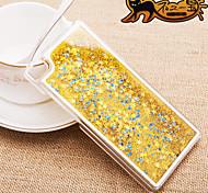 Fun Glitter Star Liquid Back Quicksand Transparent Clear PC Hard Cover For Huawei P7/P8/Mate7/Honor 6