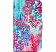 Safflower Painted PU Phone Case for Galaxy J1 Ace/J2/J1