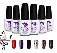 Sexy Mix Gel Polish Builder Set Glue False Tips Nail UV Gel Accessories Nail Tools Set