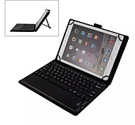 Removable Bluetooth V3.0 Keyboard PU Leather Protective Case w/ Kickstand for 9''~10'' Tablet PC (IPAD/Samsung Galaxy)