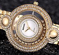 Mulheres Relógio de Moda Quartz Lega Banda marca-