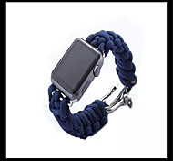 Apple Watch Band, Outdoor Survival Sport Buckle Bracelet Watch Band Strap Watch Strap Band for Iwatch Band 42mm 38mm