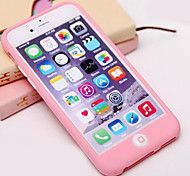 The New Smart Peas Silicone Material All Inclusive Touch Phone Case for iPhone 6s 6 Plus