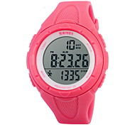 SKMEI® Women's Pedometer Fashion Sport Watch LCD Digital Alarm Stopwatch Cool Watches Unique Watches