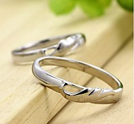 Crystal Ring Couple Rings Daily / Casual / Sports 1pc