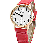Golden Case Female Quartz Watch with Bamboo Joint Leather Strap Cool Watches Unique Watches Fashion Watch