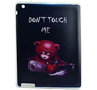 Chainsaw Bear Painted TPU Tablet computer case for ipad2/3/4