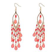 European Style Bohemian Exaggeration Fashion Beads Earrings