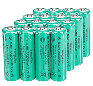 16Pcs TangsFire AA 3000mAh 1.2V Rechargeable Ni-MH Battery Green