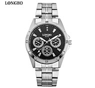 LONGBO Lover's Watches with Rhinestone Fashion Women Watch & Wen Watch Luxury Brands Quartz Wristwatch free shipping