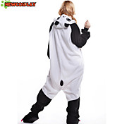 New Cosplay® Panda Polar Fleece Adult Kigurumi Pajama(without Shoes)
