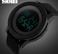 SKMEI® Men's Fashion Black Digital Sports Watch Chronograph Alarm Waterproof