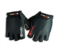 Half Finger Black Cycling Gloves GEL Non-Skid Bicycle Mittens S-XXL
