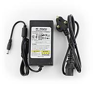 yanse® adaptador de energia do sistema 12v5a cctv + AC 100 ~ 240V de entrada de 50 / 60Hz para dc 12v 5000ma saída (eu / au / Reino Unido