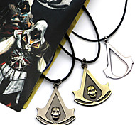 Assassin's Creed Connor Black / Yellow / Silver Alloy Necklace More Accessories