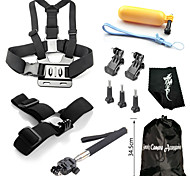 Accessori GoPro Montaggio / Con bretelle / Sacchetti / Vite / Reinigungs-Tools / Boje / Accessori Kit / Impugnature PerGopro Hero 1 /