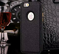 New Luxury Leather Cover Frame and Backplane Phone Case for iPhone 6 Plus / 6S Plus(Assorted Colors)