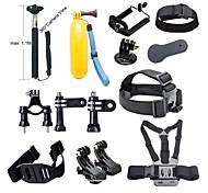Accessori GoPro Montaggio / custodia protettiva / Monopiede / Treppiedi / Con bretelle / Vite / Boje / Sog / Accessori Kit / Altro Per