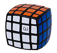 QJ 4 Layers Magic Cube Bread Type Cube (Black Edge)