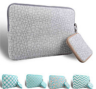 LOELMALL ® Carry Laptop Sleeve Canvas Fabric 13-13.3 Inch (Gray Skin pattern)