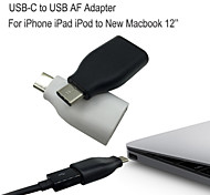 USB-C to USB3.0 Adapter for iPhone 6S 6S PLUS 6 5S 5 to Marbook 12'' data Sync and charge