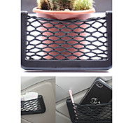 Car Net Organizer Pockets Car Storage Net 14.5X8.5cm Automotive Bag Box Adhesive Visor Car Bag For Tools Mobile Phone