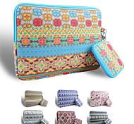Smith sursee ® effectuer Laptop Sleeve tissu toile de 13 à 13,3 pouces (mallette de style bohème)