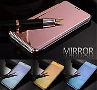 Luxus Smart Flip slim s-View Touch galvaniSpiegelFest klare transparente Kastenabdeckung für Samsung-Galaxie s5