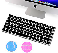 XSKN Spanish Language Ultra Thin Silicone Keyboard Skin Cover for Magic Keyboard 2015 Version US Layout